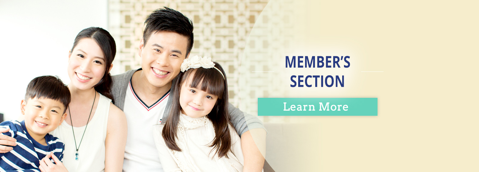 Member's Section. Learn More.