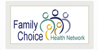 Family Choice Medical Group & Fountain Valley Regional Hospital & Medical Center logos